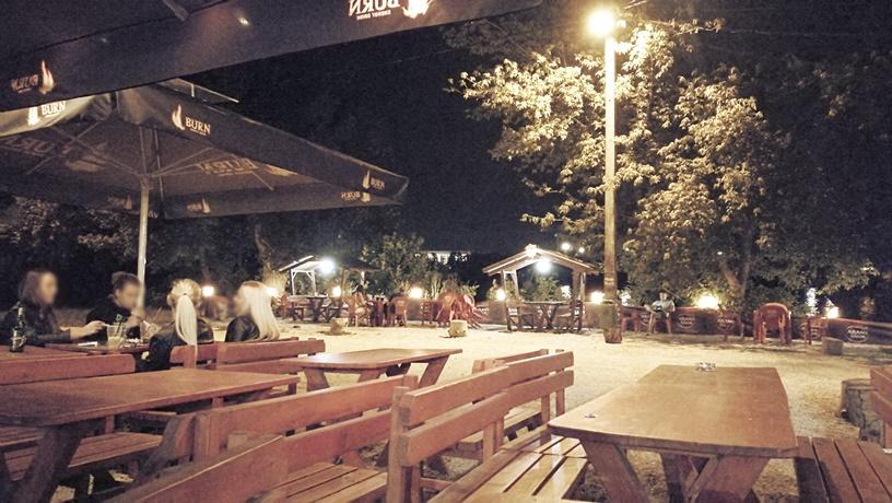 Római-part - Orange Bike éjjel - Kocsmaturista