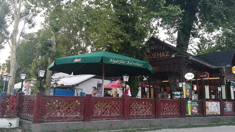 Római-part - Nyárfás kávéház - Kocsmaturista