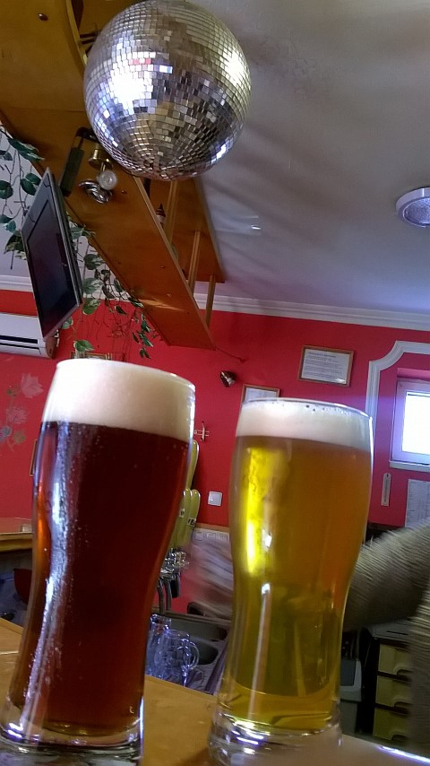 A Guri Sörfőzde sörei a kocsmában - Kocsmaturista