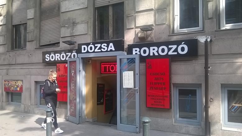 Zugló kocsmái - A Dózsa söröző, borozó portája - Kocsmaturista