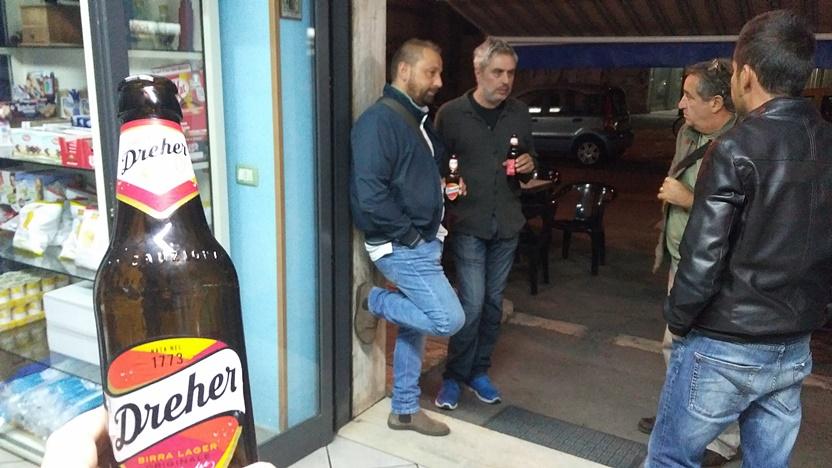 Leccei kocsmák - Olasz Dreher a Bar Mireaban - Kocsmaturista