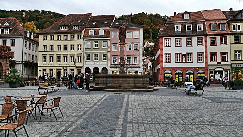 1000. kocsma - Heidelberg, Markt Platz - Kocsmaturista
