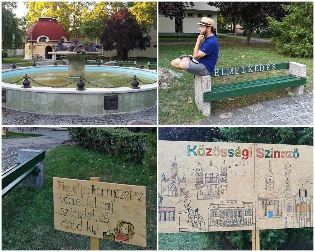 Ceglédi kocsmák - Kis tér a Rákóczi út mentén - Kocsmaturista