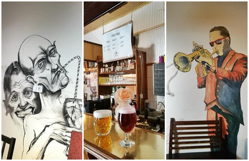 Kocsmaturista - Ceglédi Kocsmák - Tizes Vintage Bar - Kisüzemi sörök és falfestmények