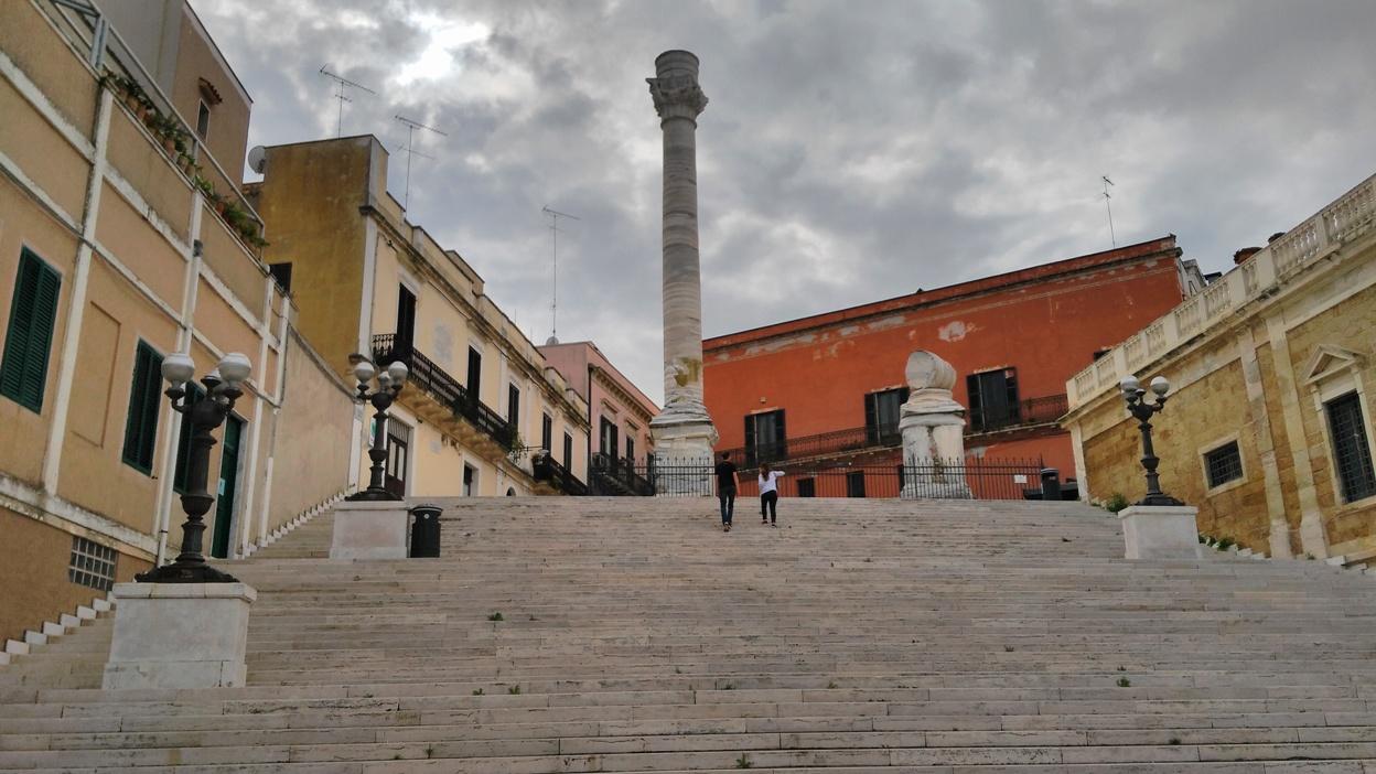 Brindisi kocsmai - a Via Appia vége - Kocsmaturista