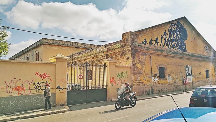 Bari barok - A vasútállomás környéke - Kocsmaturista