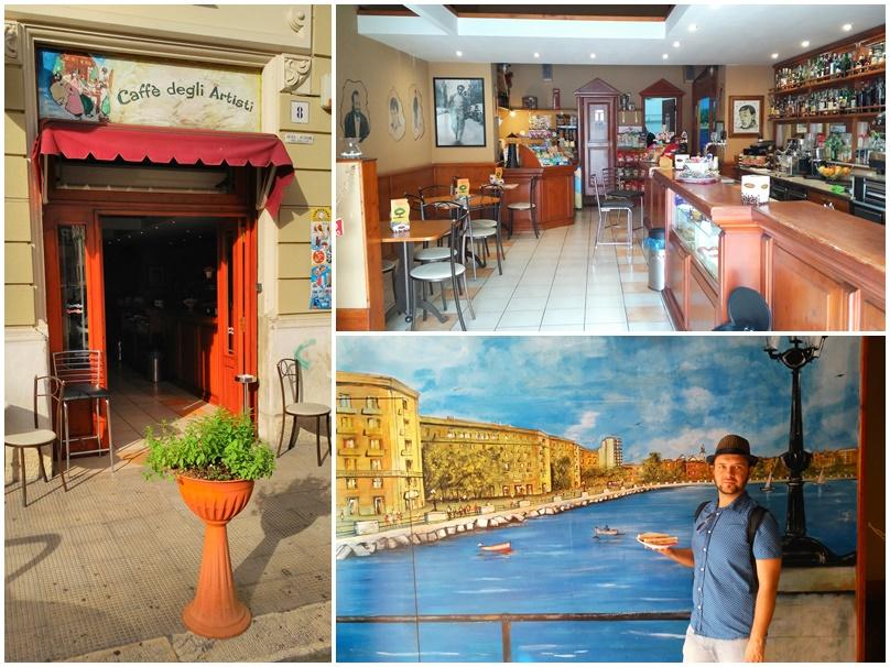 Bari barok - Caffé degli artisti - kocsmaturista