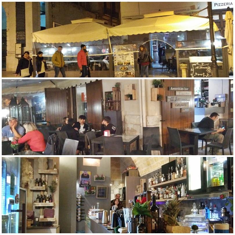 Bari barok - Caffetteria del Ferrarese - Kocsmaturista