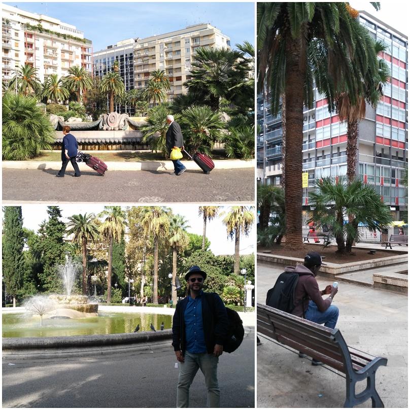 Bari barok - a vasútállomás túl oldala