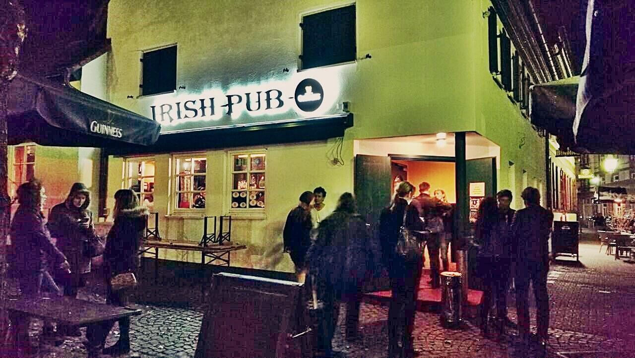 Frankfurt, Berger Strasse, Bornheim - Ír Pub - Kocsmaturista
