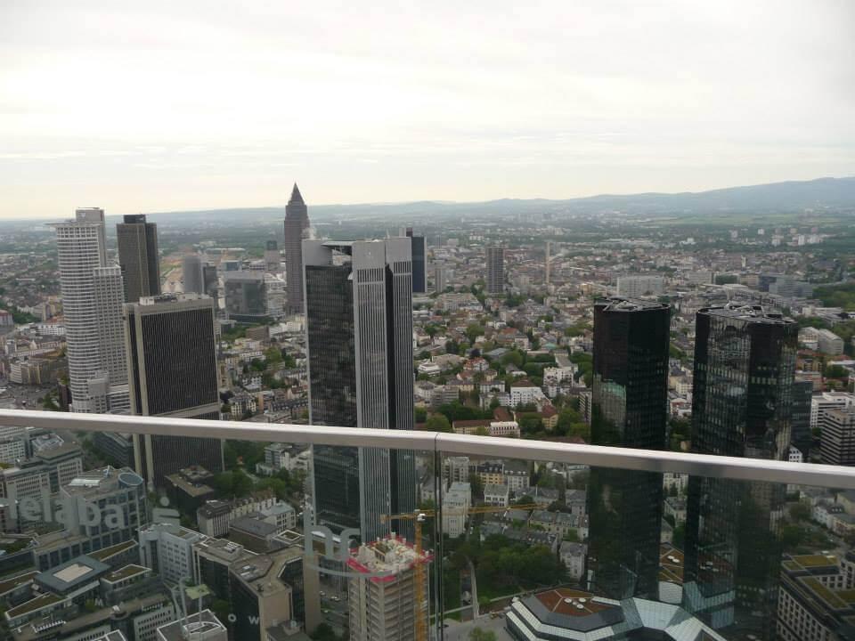 Frankfurt - Kilátás a Main Towerből - Kocsmaturista