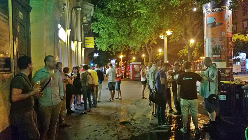 Találkozás az Éjszakai polgármesterrel - Kocsmaturista
