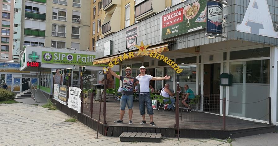 Pécs kocsmái - Sztár Eszpresszó bejárat - Kocsmaturista