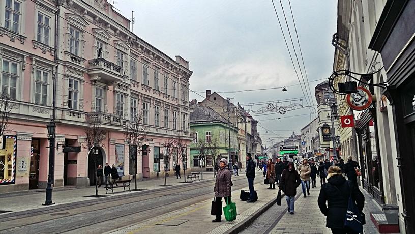 Miskolc kocsmái - Széchényi utca - Kocsmaturista
