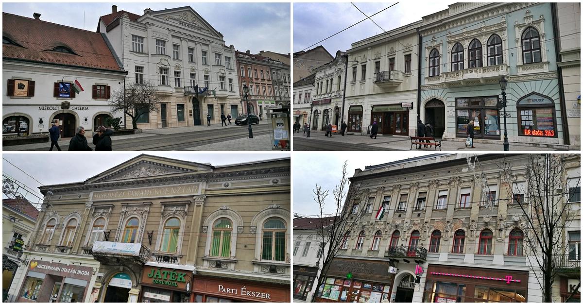 Miskolc kocsmái - A Széchényi utca épületei - Kocsmaturista