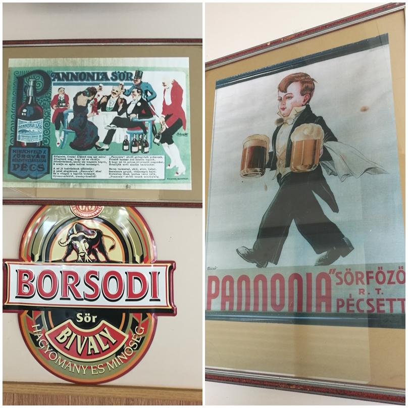 Pécs kocsmái - Sztár Eszpresszó retró plakátok - Kocsmaturista