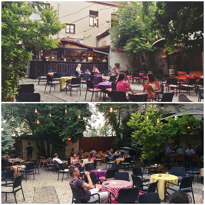 Pécsi kocsmák - Cool Tour Café kert - Kocsmaturista