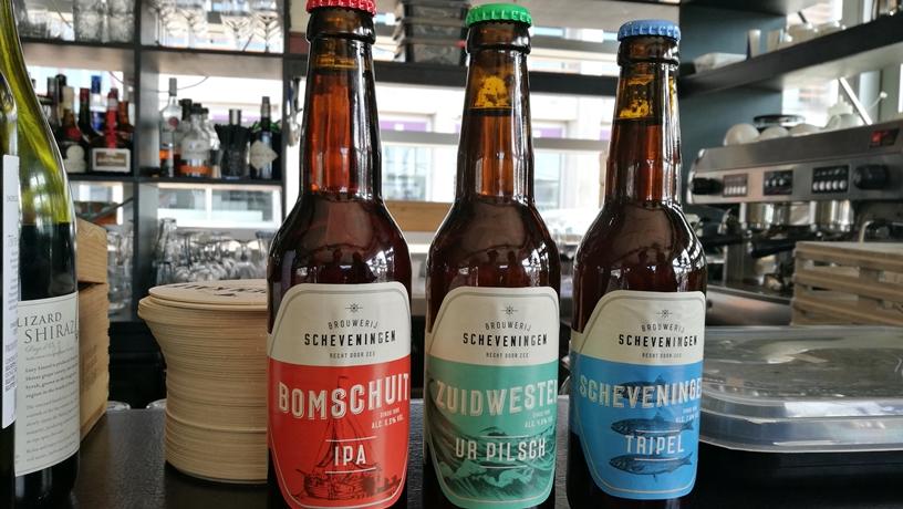 Hága kocsmái - a Scheveningen Brouwerij termékei a Het Gouden Kalfban - Kocsmaturista