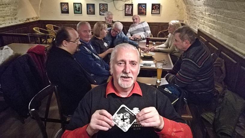 Magyarországi Sörcikkgyűjtő Klub az Ogre bácsiban - Kocsmaturista