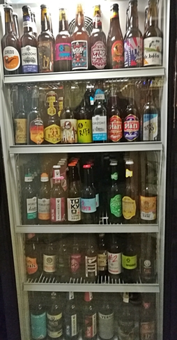 Kocsmatúra a sörcikkgyűjtőkkel - Pepin Craft Beer Bar sörhűtő - Kocsmaturista