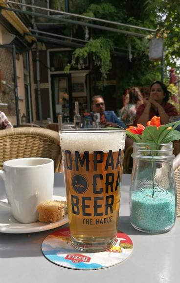 Hága kocsmái - De Klap - Kompaan sör - Kocsmaturista