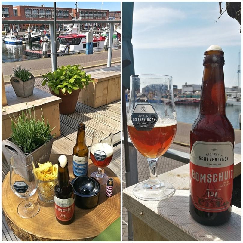 Hága kocsmái - Scheveningen Brouwerij sörpiknik a Het Gouden Kalfban - Kocsmaturista