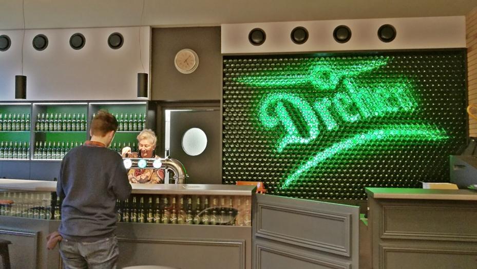 Dreher Pale Ale és Asahi Super Dry 2018 újdonságok - Dreher Dolgozói Pub pult pultja