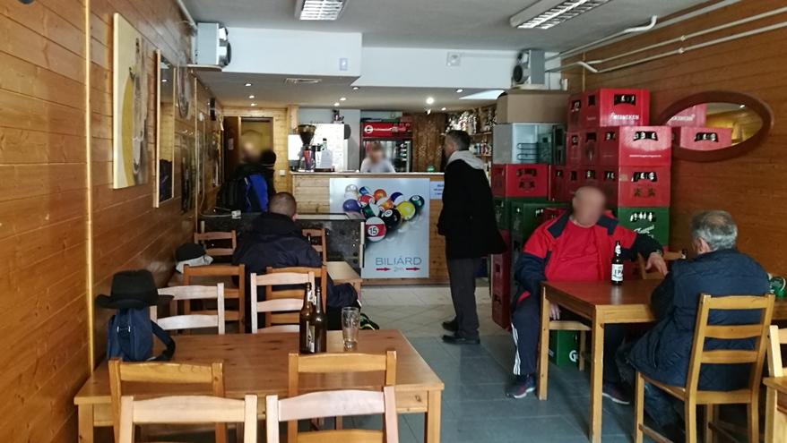 Salgótarján kocsmái és a 4 Birtok - Kálvária kávézó belülről - Kocsmaturista
