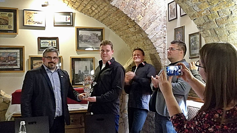 Alltech Dublin Craft Beer and Cider Cup 2018 magyarországi díjátadó - FŰTŐHÁZ SÖRFŐZDE - Hava Dániel