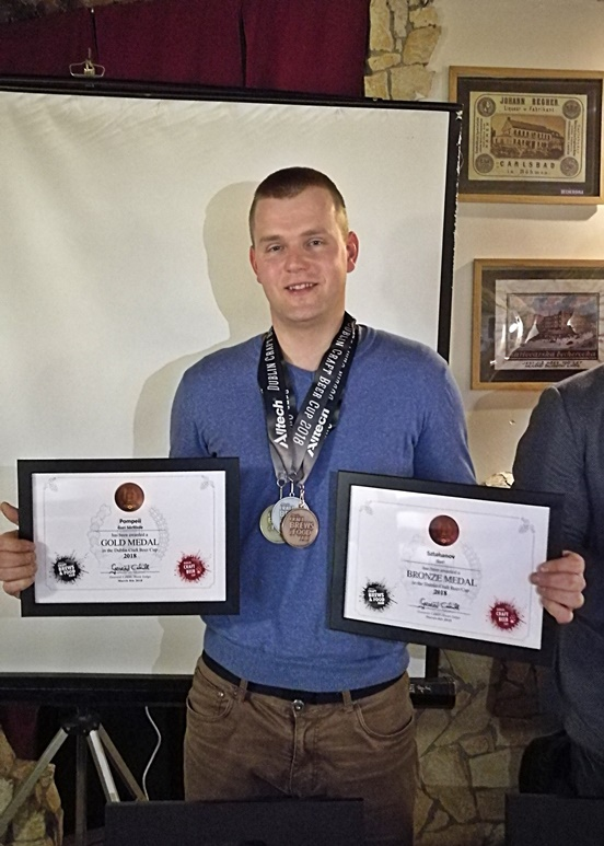 Alltech Dublin Craft Beer and Cider Cup 2018 nyertesek - Urbán Imre, Guri Sörfőzde - Kocsmaturista