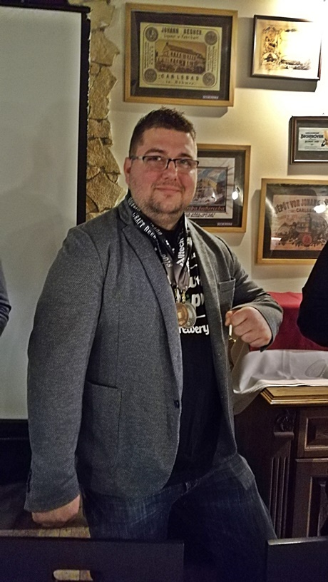 Alltech Dublin Craft Beer and Cider Cup 2018 - magyarországi díjátadó - Kis Tamás, Hopfanatic Brewery