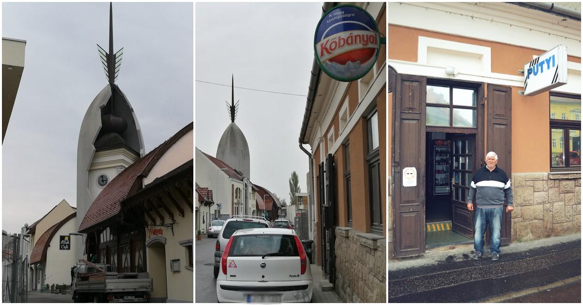 Eger - bezárt Putyi kocsmája és a Zöld Pecsét -a bejárat - Kocsmaturista