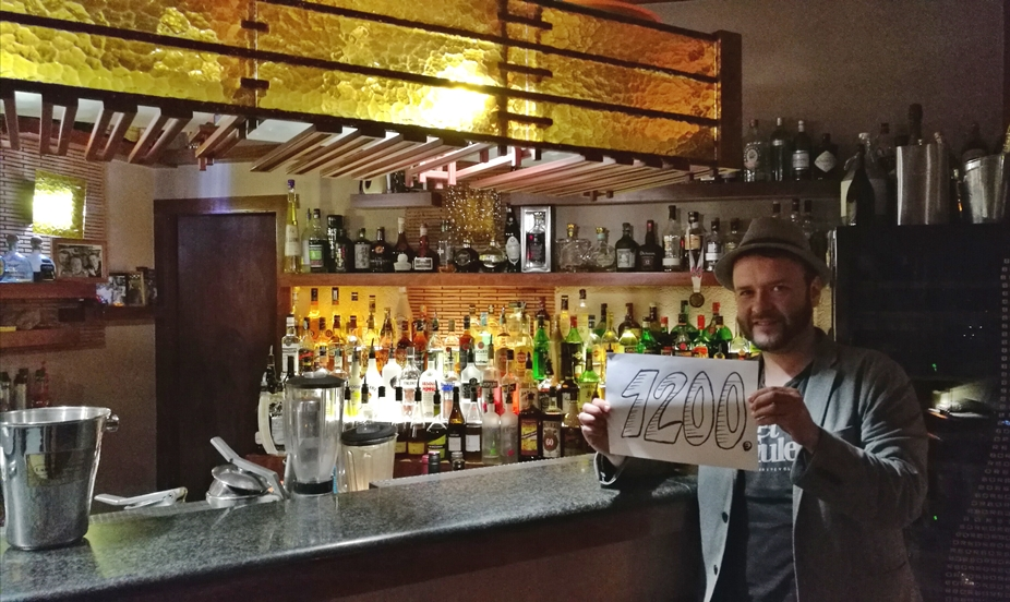 Siófok tavasszal - Cocktail Drink, az 1200. Kocsmaturista állomás - Kocsmaturista