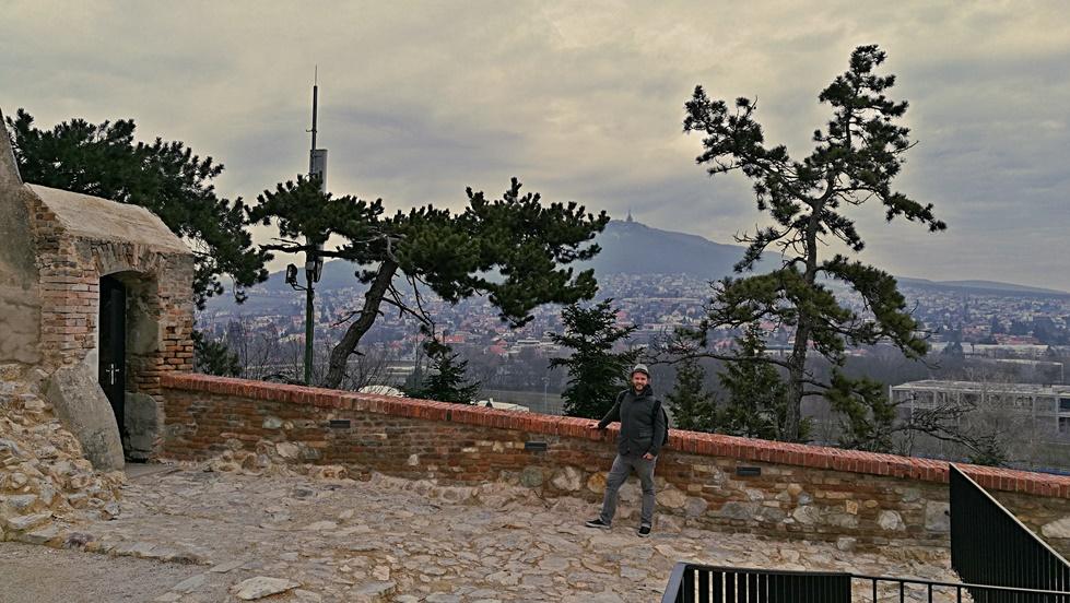 Kilátás a nyitrai várból - Kocsmaturista