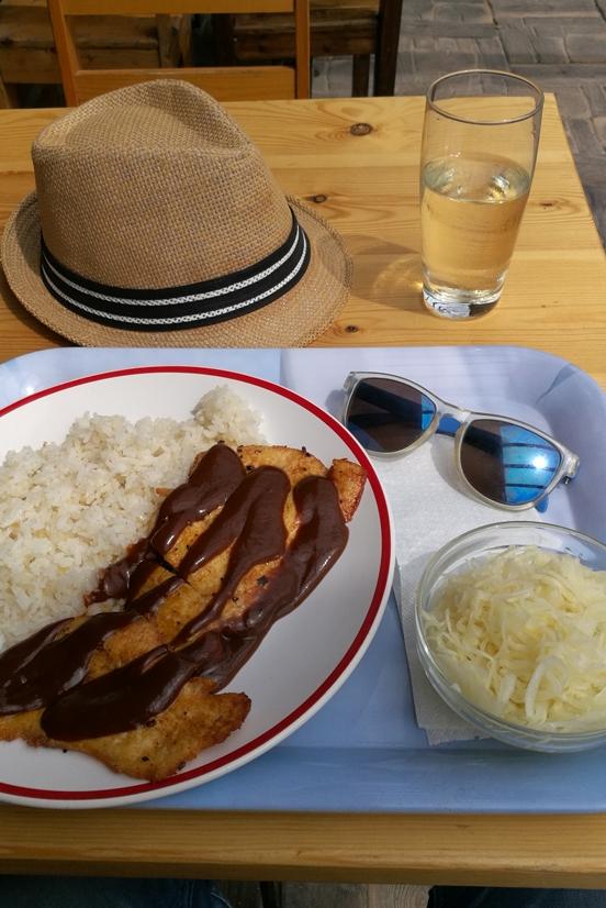 Aranypart Camping környéke - Siófok-Szabadifürdő - Sanyi Sarok - BBQ csirke káposztával - Kocsmaturista