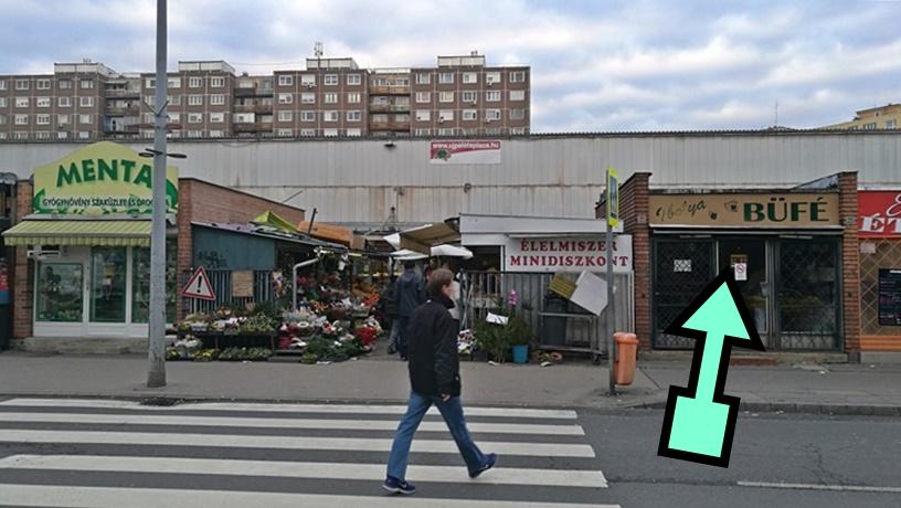 XV. kerület kocsmái Budapest - Ibolya büfé kívülről - Kocsmaturista