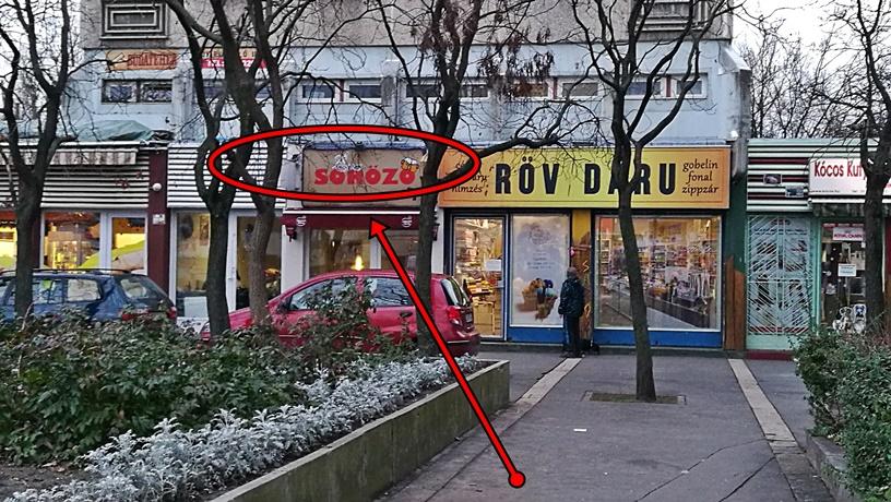 XV. kerület kocsmái, Budapest - Éva Söröző kívülről - Kocsmaturista