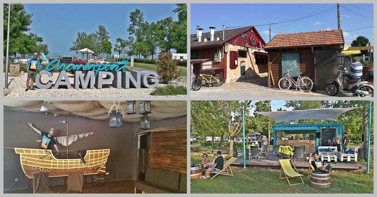 Aranypart Camping, Siófok-Szabadifürdő - Címlap - Kocsmaturista