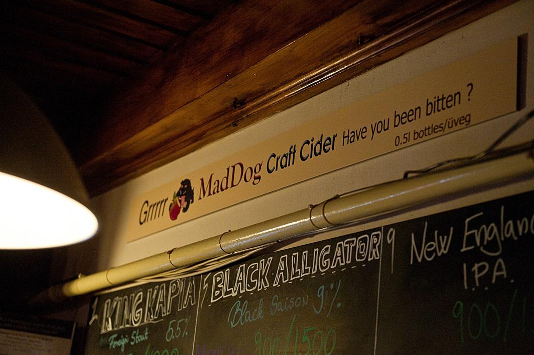 Have you been bitten? - Mad Dog Craft Cider - Kocsmaturista