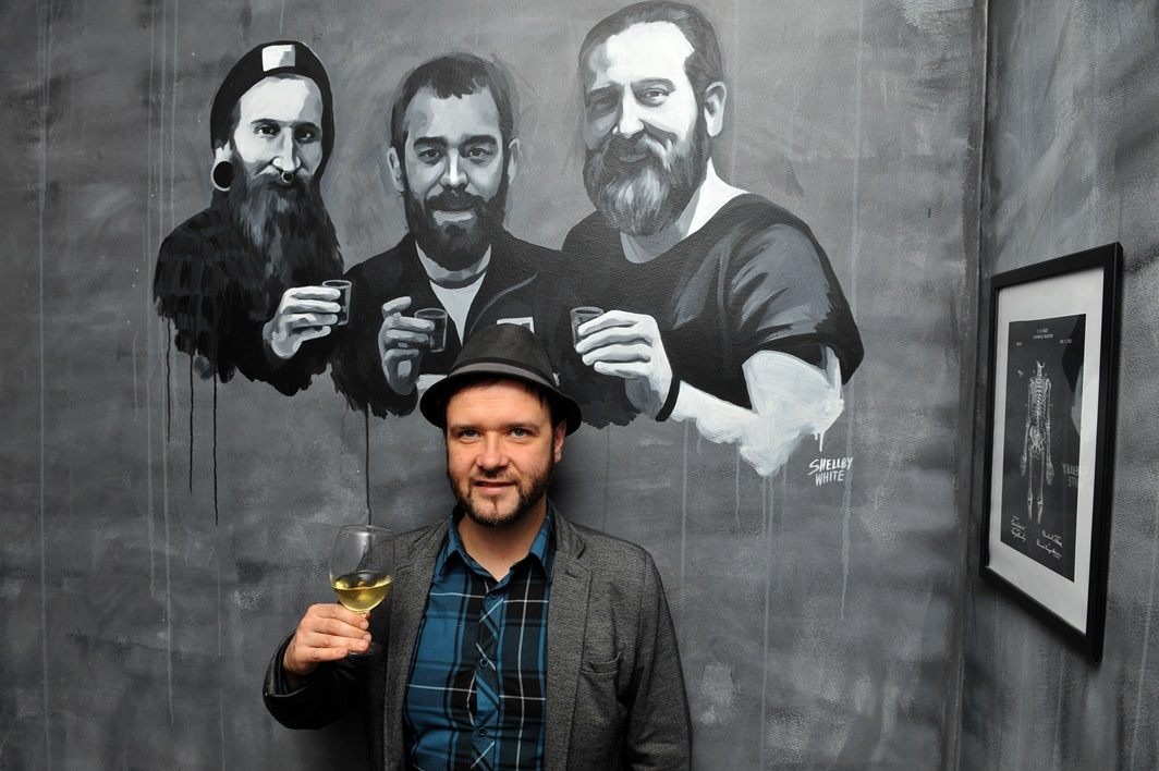 Edison Bar & Ink tulajaival - Kocsmaturista