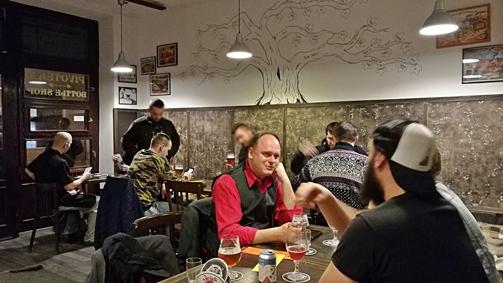 Nyitra kocsmái - Beer Time Nitra - Külső terem - Kocsmaturista