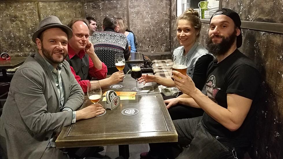 Nyitra Beer Time - a Fenékig Blog fél csapatával és Katona Csaba, (sör)történésszel - Kocsmaturista