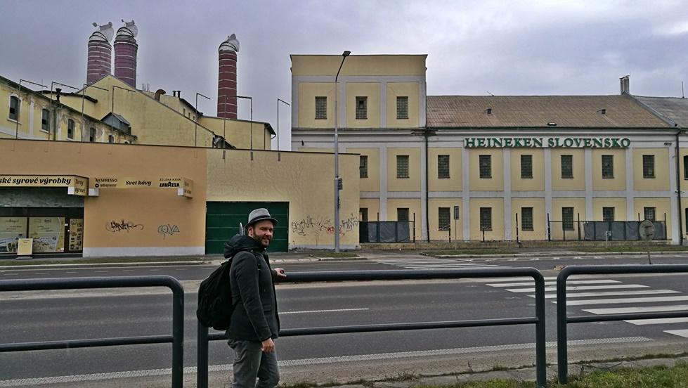 Nyitra - az egykori Corgoň gyár, szlovák Heineken