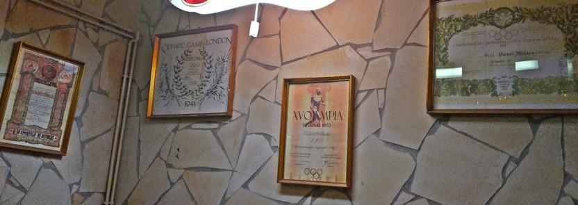 XV. ker kocsmái, Budapest, Szilvanusz - Szilvássy Miklós, olimpiai bajnok emlékezete