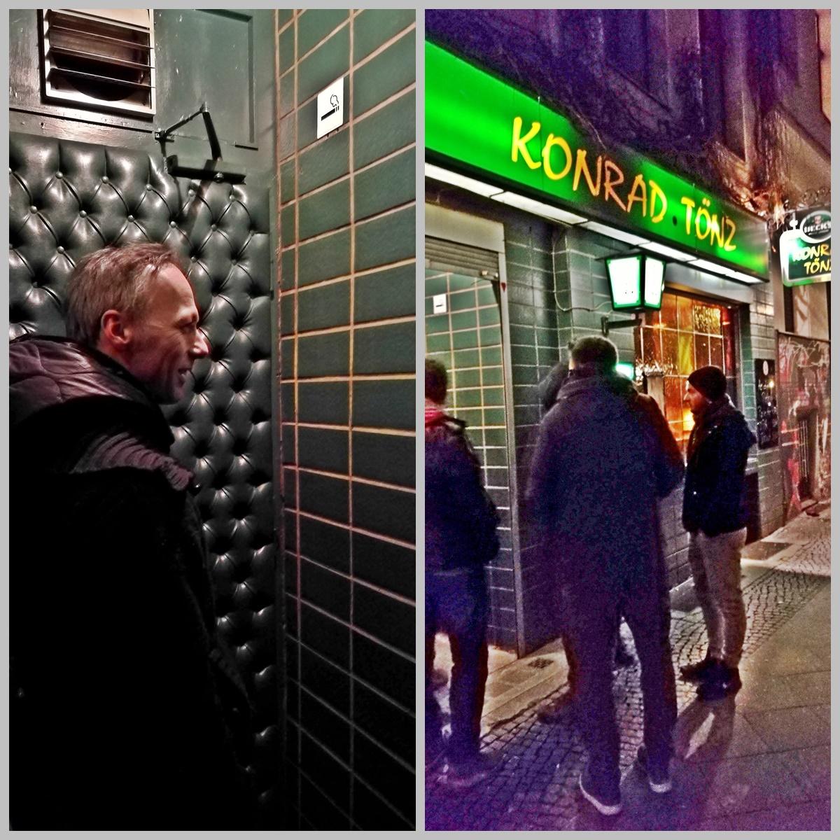 Berlini Kocsmatúra - Konrad Tönz bejárat - Kocsmaturista