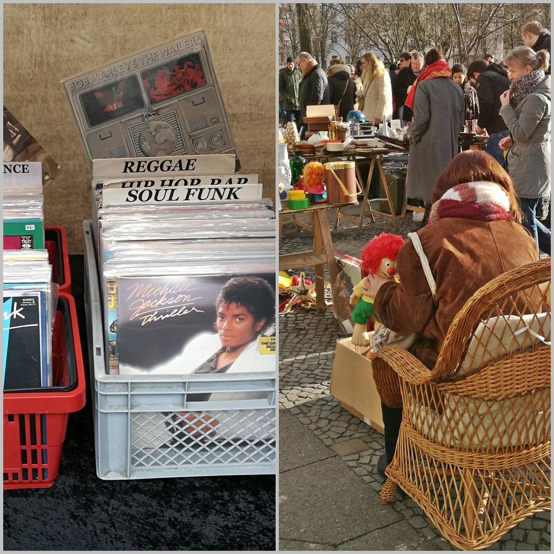 Berlini Kocsmatúra - Boxhagener Platz bolhapiac - Kocsmaturista