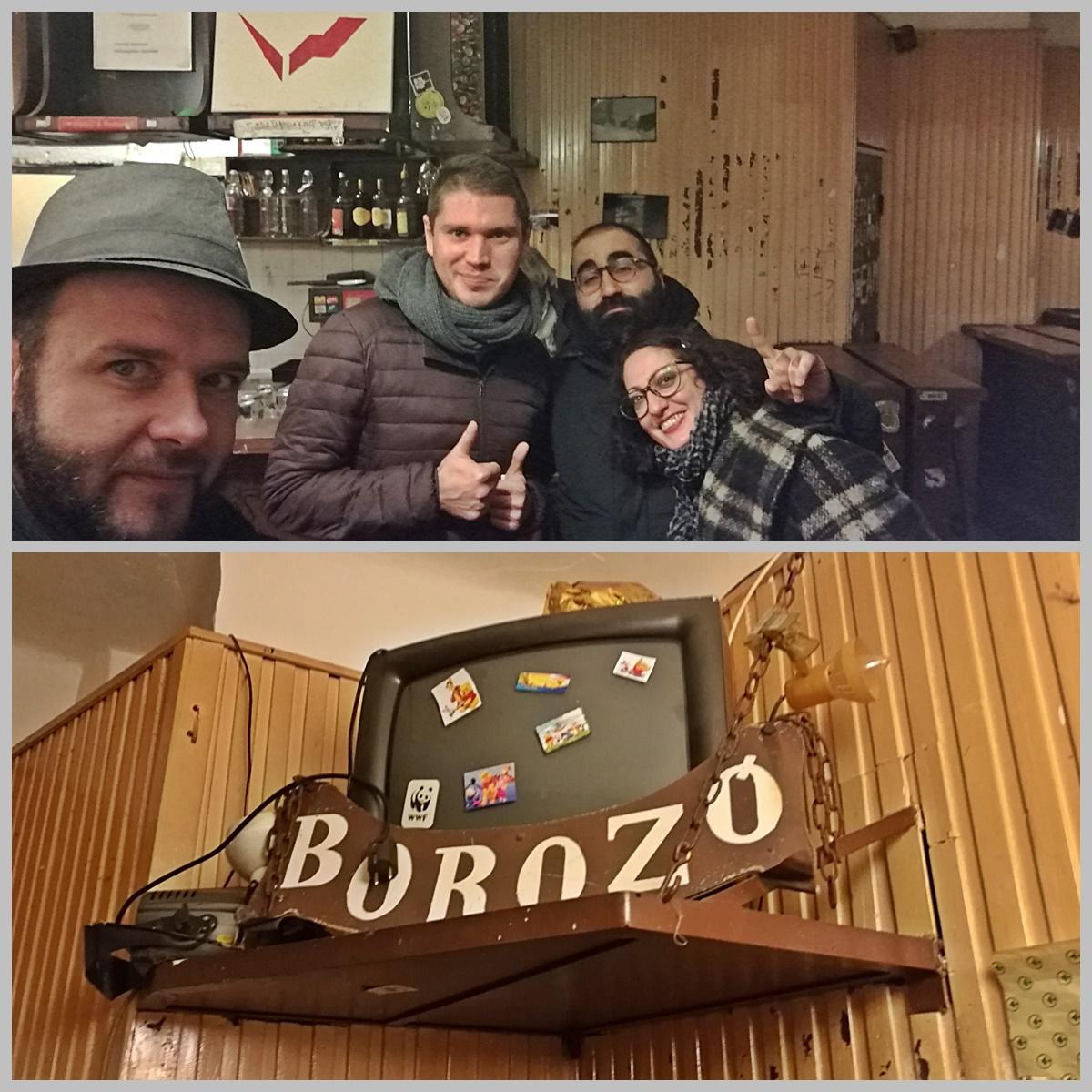 Budapesti Kocsmatúra olasz szemmel - Villanyi Borozó - Kocsmaturista