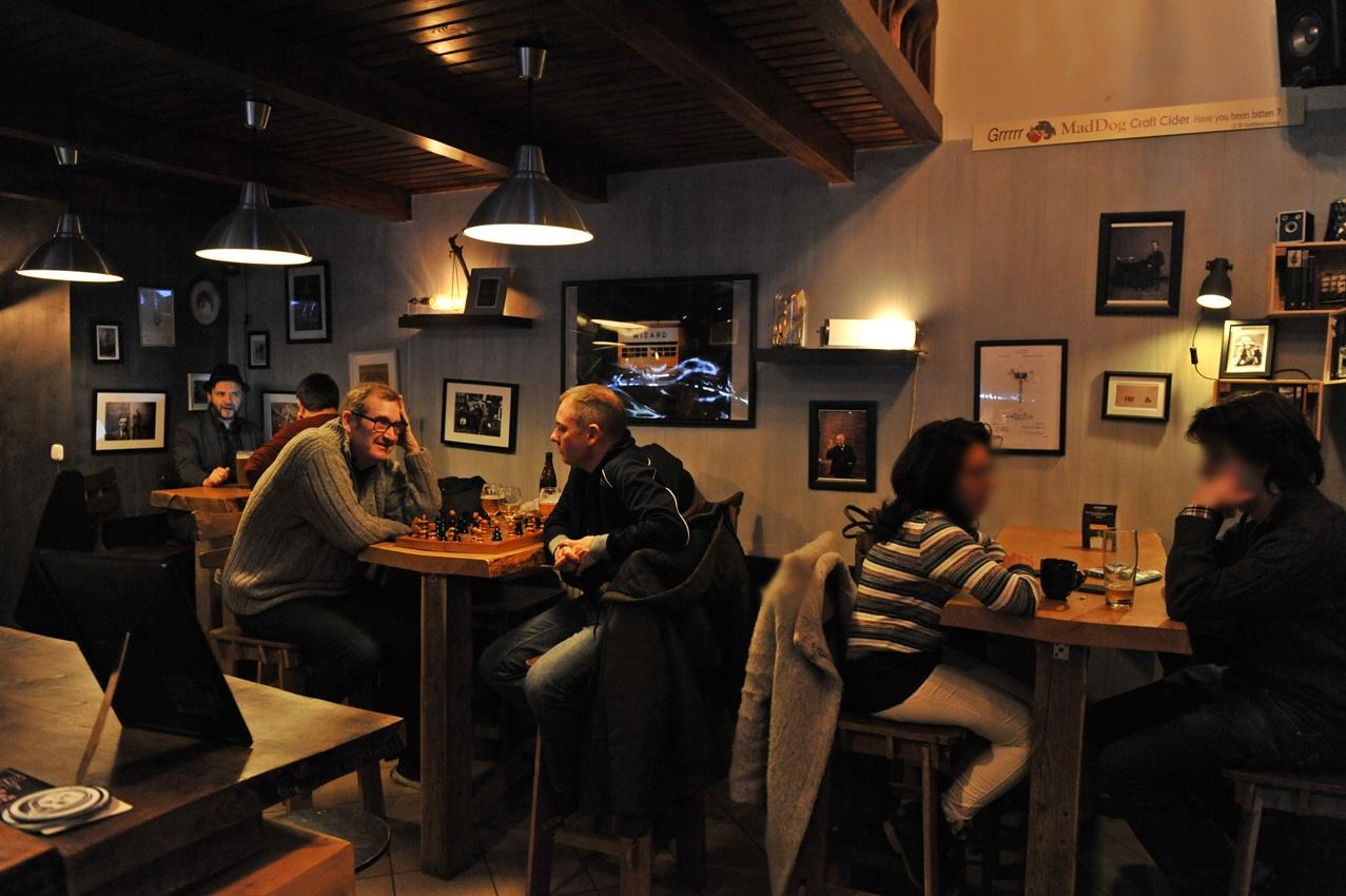 Edison Bar & Ink belülről - Kocsmaturista