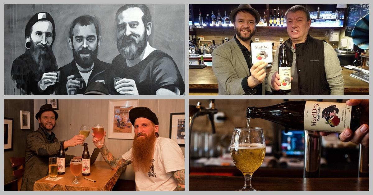 Mad Dog Craft Cider - dison Craft Beer & Ink - Kocsmaturista