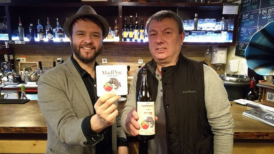 A Mad Dog Craft Cider Cidermesterével, Keith Mahoneyval - Kocsmaturista
